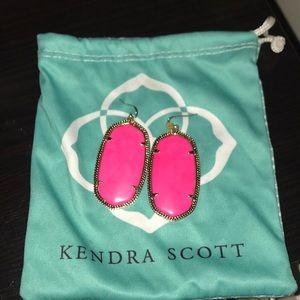 Hot Pink Danielle Kendra Scott Earrings